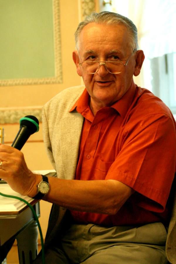 Romuald Dylewski, siła sprawcza Forum Kultury Przestrzeni; 27 września 2005. Fot.Marcin Skrzypek