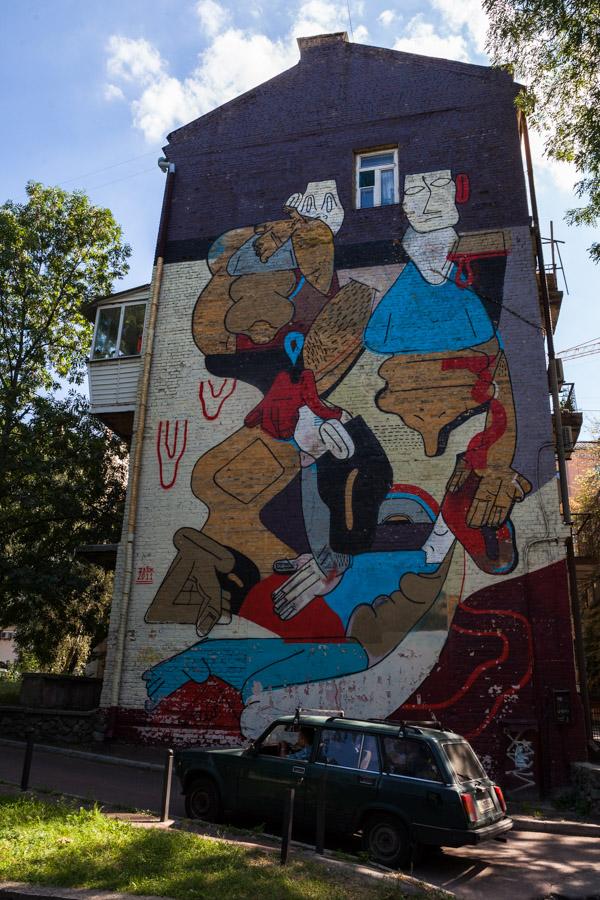 Mural Zbioka (właśc. Sławomir Czajkowski, Polska). Fot.DK