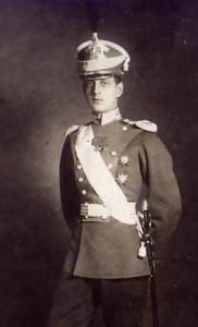 Wielki książę Dymitr Pawłowicz Romanow około 1910 r. Źródło: wikimedia.org.