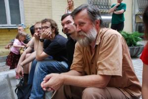 Ołeh Łyszeha nakijowskim festiwalu.